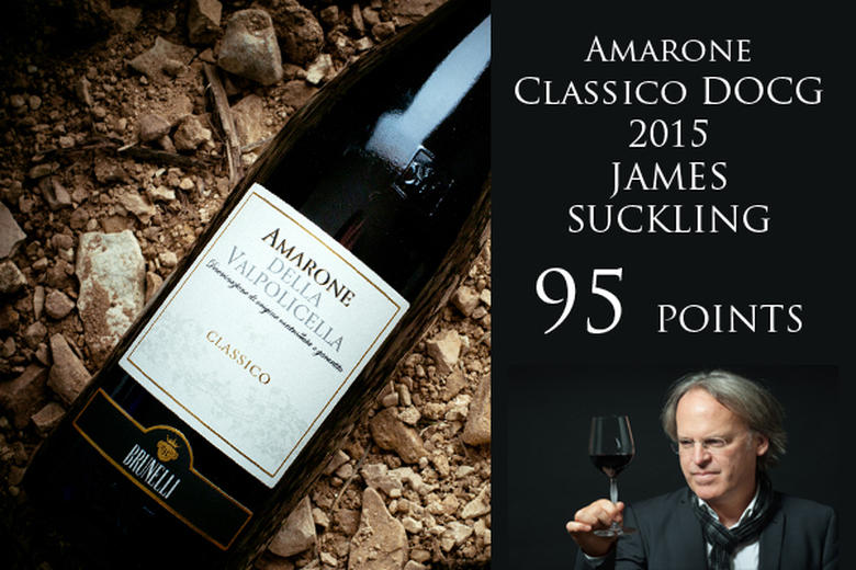 AMARONE CLASSICO 2015: 95 POINTS JAMES SUCKLING (2018/2019)
